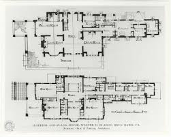 hillbrook house plans u2013 radnor historical society archive
