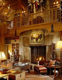 home interior western pictures terrific rustic mountain home love that huge and decorative