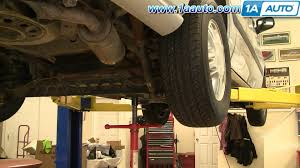 how to install replace rear shocks chevy venture 97 05 transport