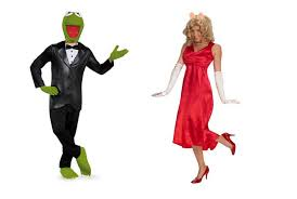 easy couples costumes costumes diy in rousing kermit and miss piggy