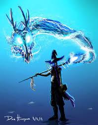 the blue wizard by danhasegawa on deviantart