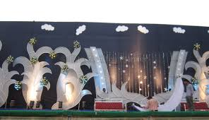 celestial moon theme wedding stage decoration ideas post series
