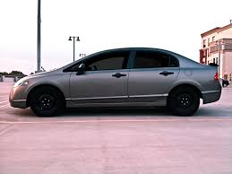 grey honda civic civic galaxy grey with black spoiler concept 8th generation