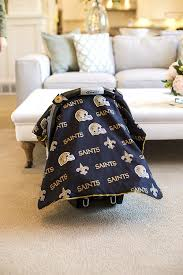 Car Seat Canopy Amazon by Amazon Com Carseat Canopy Nfl New Orleans Saints Baby Infant