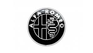 alfa romeo logo romeo black