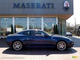 maserati granturismo dark blue 2006 maserati gransport le coupe in blue nettuno dark blue