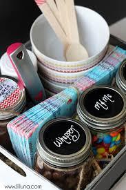 Ice Cream Gift Basket Diy Gift Basket Ideas Ice Cream Sundae Hamper Click Pic For 25