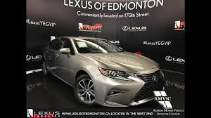 lexus sedan colors 2017 atomic silver lexus es 300h executive walkaround review