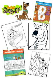 scooby doo coloring pages free printable kids colouring scooby