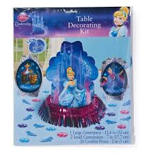 Cinderella Centerpieces Cinderella Table Decoration Kit Target