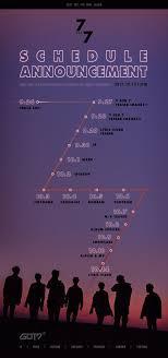 5 by 7 photo album got7 on got7 7 for 7 schedule announcement got7 갓
