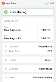 sunrise gives your android a hybrid agenda calendar view nexus