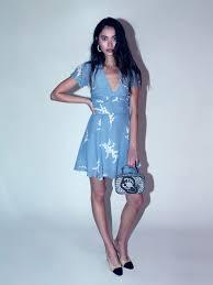 loving dresses the luella summer loving blue réalisation par