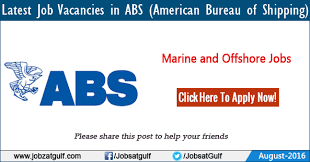 bureau of shipping abs vacancies in abs bureau of shipping us