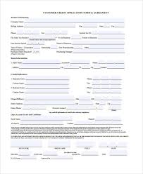 credit application forms 21 free credit application forms credit