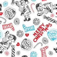 christmas pattern white christmas pattern vector freevectors net