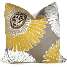 Grey Decorative Pillows You Will Never Believe These Bizarre Truth Of Yellow And Gray