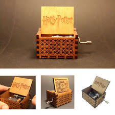 Engraved Music Box Crate Decorative Boxes Ebay