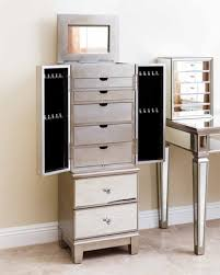 stores that sell jewelry armoire great deal on jaclyn mirrored jewelry armoire