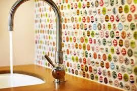 cheap diy kitchen backsplash easy backsplash ideas 24 low cost diy kitchen backsplash ideas and