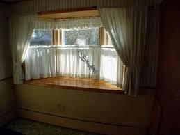 kitchen bay window curtain ideas country window treatment ideas else ideas for