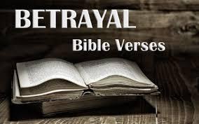 10 important bible verses betrayal