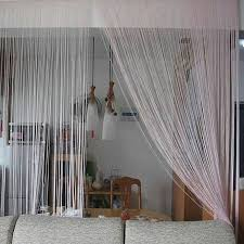 braid line twine room divider partition curtain http www