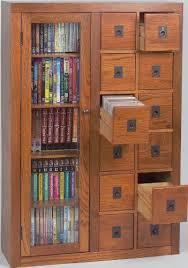 library file media cabinet leslie dame gl06 0518 retro design librarian card file media