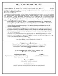 Manager Resume Sample by Financial Manager Resume Example