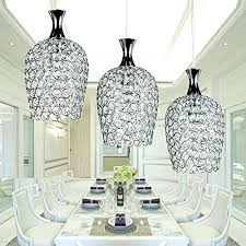 Crystal Light Fixtures Dining Room - modern chrome drum crystal chandelier ceiling pendant light