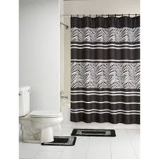 Zebra Shower Curtain by Bathroom Lovely Autenthic Art Nautical Shower Curtains For