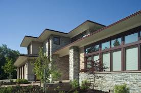 prairie style house plans contemporary prairie style house plans modern craftsman home small