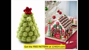 crochet christmas decorations patterns youtube