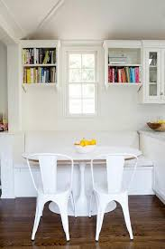 oval breakfast nook table design ideas
