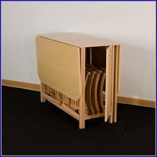table cuisine avec chaise table pliante avec rangement pour chaise maison design bahbe com