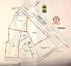Montgomery Mall Map Spanish Acres Properties U2013 Dothan Al U2014 3 Acres Across From Wc