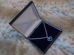 diamond box necklace images Titanic heart of the ocean coeur de la mer blue diamon flickr jpg