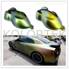 chameleon flip shift car paint color changing car coating pigments