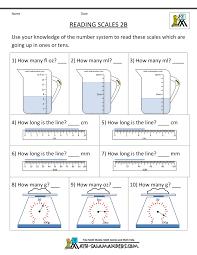 4th Grade Reading Printable Worksheets 2nd Grade Measurement Worksheets