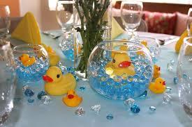 baby shower duck theme breathtaking rubber duck baby shower centerpiece ideas 15 with