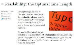 design lines font 7 deadly web design sins you might be making