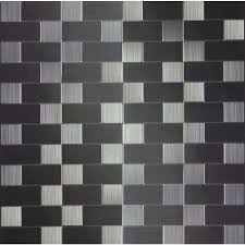 Kitchen Backsplash Peel And Stick 3d Wall Ekb 03 110 Instant Mosaic Stainless Steel Peel U0027n U0027stick