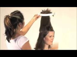 how to cut long hair to get volume at the crown how to cut layered hairstyle and bangs youtube