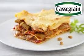 comment cuisiner les haricots plats recette de lasagnes de haricots plats cassegrain et jambon de