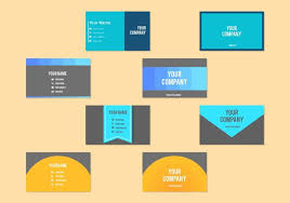 free vector business card templates 18924 free downloads