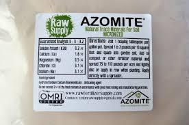 azomite rock dust 2lb migardener