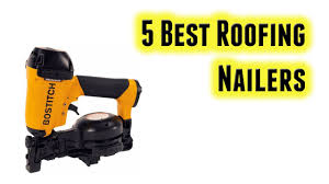 Battery Roofing Nailer by Best Roofing Nailers Buy In 2017 Youtube