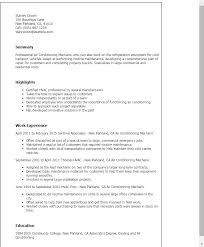 Sample Resume For Air Conditioning Technician by Air Conditioning Sales Resume Sfia Thesis