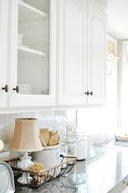 kitchen counter decorating ideas peel and stick tile backsplash accents at the picket fence