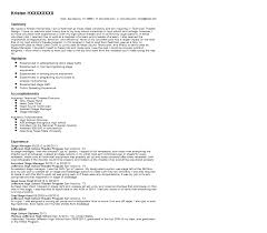 Resumes For Management Positions Stage Manager Resume Sample Quintessential Livecareer